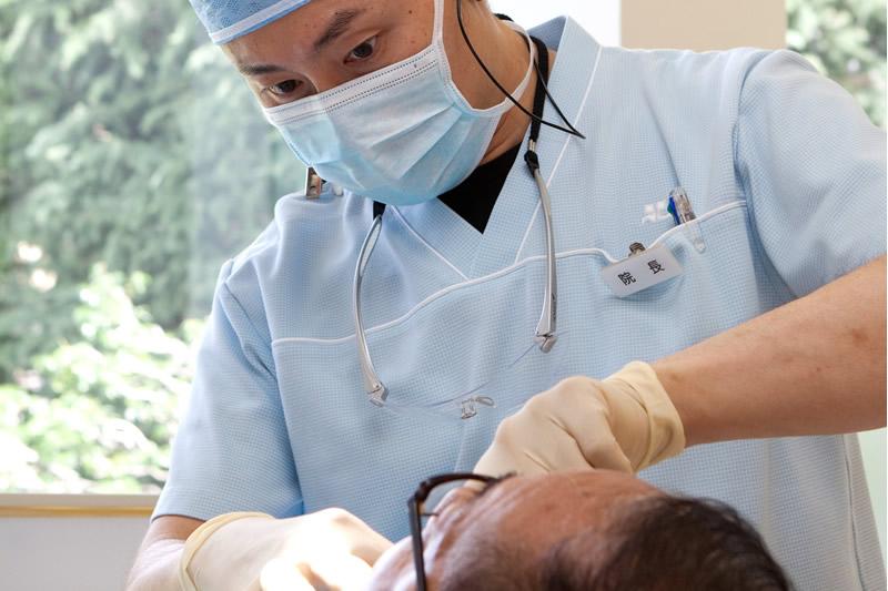2.インプラント成功のために、リスクを回避する精密治療